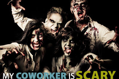 """""""My coworker is scary"""" 2013 edition"""