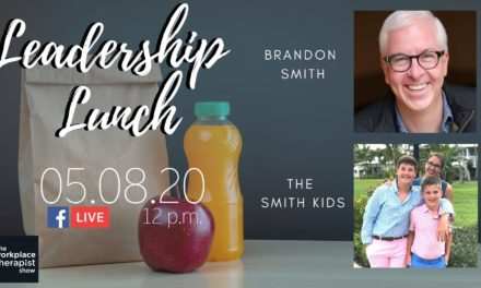 Leadership Lunch with The Smith Kids, Abby, Noah and Aaron