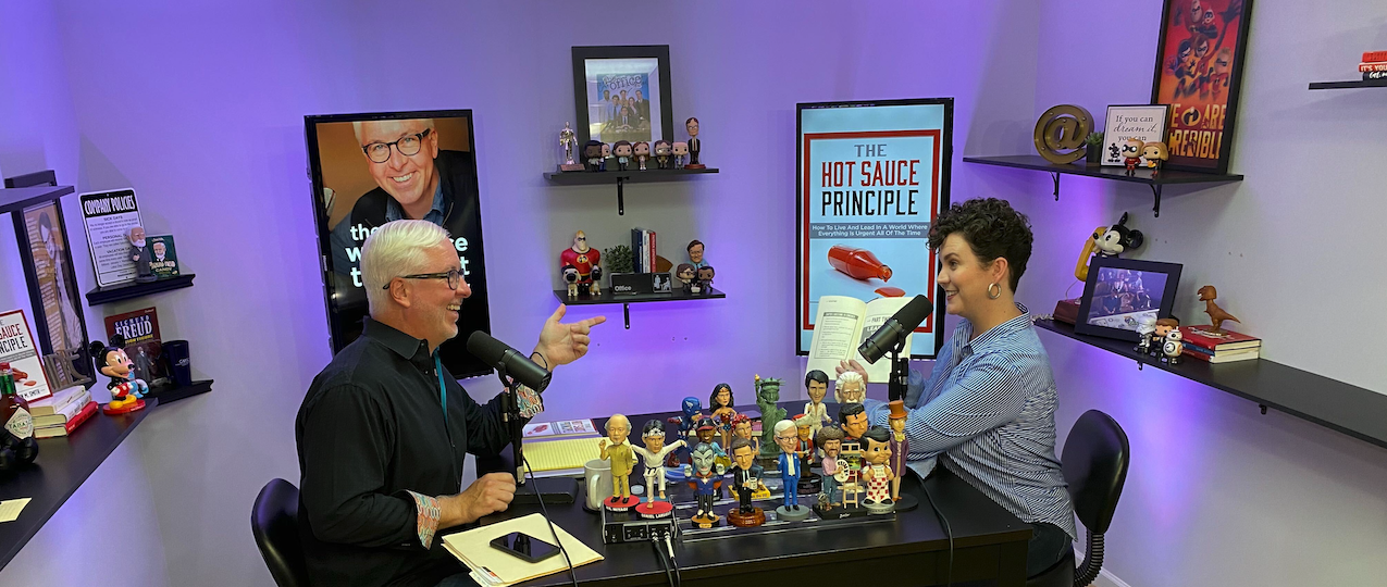 """Book Chat: My New Book, """"The Hot Sauce Principle"""""""